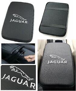 """JAGUAR Car Center Console Armrest Cushion Mat Pad Cover 11.75"""" x 8.5"""""""