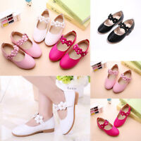 Cute Baby Kids Toddler Infant Girls Flats Wedding Party Princess Shoes Gift M00