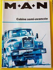 Catalogue / Brochure  Man Cabine semi-avancée