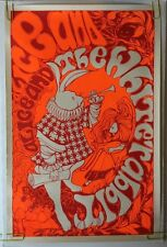 White Rabbit Vintage Blacklight Poster Cathy Hill Pin-up Alice In Wonderland 60s