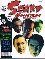 Scary Monsters Horror Movie Magazine #98 June 2015 Lugosi Karloff Double Feature