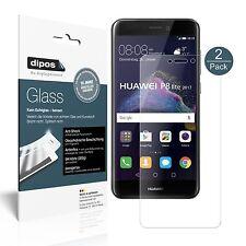 2x Huawei P8 Lite2017 Pellicola Protettiva Protezione opaco Vetro Flessibile 9H