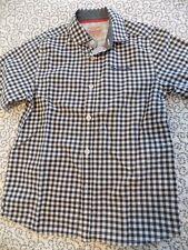 Next Brand Originals Black/White Check Shirt ~ Size 7