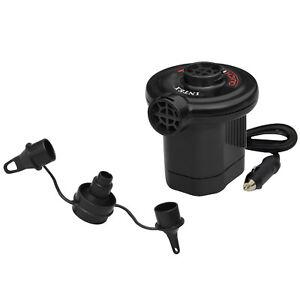 INTEX elektrische Pumpe Luftbett Luftpumpe 12V kraftstoffpumpe akku Kompressor
