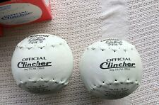 """deBeer 16"""" Official Clincher Chicago Softballs Softball 2 Brand New in Box"""