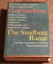 New listing Signed The Sandburg Range by Carl Sandburg Autographed First Edition Book Rare