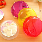 New Brand Transparent Microwave Ventilated Plate Dish Food Cover Steam Vent Lid;