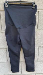 New Zella Maternity Black Cropped Leggings Size Small