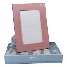 Wedgwood Jasperware Classic Picture Frame Pink 5''x7' 9;