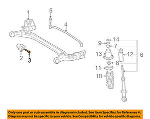 TOYOTA OEM 03-13 Corolla Rear Suspension-Axle Beam Mount Bolt 90119A0013