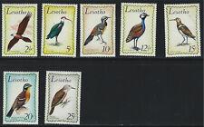 Lesotho 105-115 Beautiful Birds MNH 1971