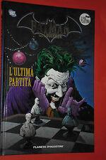 BATMAN LEGGENDA- N°16-ultima partita- CARTONATO PLANETA DE AGOSTINI- PLATINO