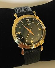 Rare Hamilton Van Horn Electric 500 Watch Solid 14k Gold ~ Mint Working Order