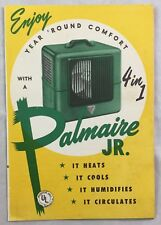Vintage Palmaire Jr Advertising Brochure Heater Cooler Humidifier Phoenix Az