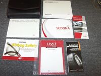 2015 Kia Sedona Minivan Van Owner Owner's User Manual Set EX L LX SX 3.3L V6