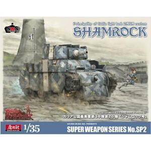 Zoukei-Mura 1/35 Gallia Light Tank Shamrock ZAKA Custom SP2