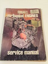 1983 Small Air Cooled Engines Service Manual 14th Edition Intertec Publishing