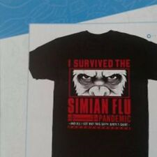 I Servived the Simian Flu T- Shirt in Gr. L