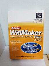 Quicken WillMaker Plus 2008_Brand New