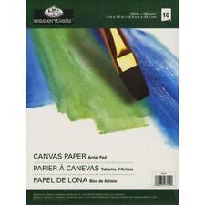 """Royal Langnickel Essentials Canvas Paper Artist Pad 9""""x12"""" 181lb 10 x Sheets"""