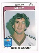 Manly Sea Eagles 1980 Rugby League (NRL) Trading Cards