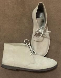 Pretty Green Clarks Desert Boot - White Size 9