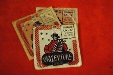 LOT DE 2 CORDES ARGENTINE 1216 - MI 6ème 046 à boule