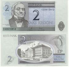 Billet banque ESTONIE ESTONIA 2 KROONI 2006 NEUF UNC