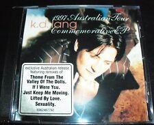 KD Lang Rare 1997 Australian Tour Commemorative Remixes CD EP