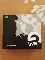 Ableton Live Suite 8 (Trial-Version) & 3 Sampled Instruments DVDs