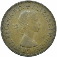 1967 ONE PENNY OF ELIZABETH II. /One Penny Bronze   #WT25471