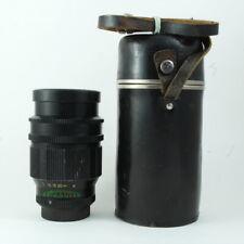 Lens TAIR-11A 2.8/135 Black 2.8 135mm M42 mount USSR 810633 KMZ Tested