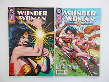 2x WONDER WOMAN - Heft Nr. 1 + 2. DC, Dino Comics. Z. 2
