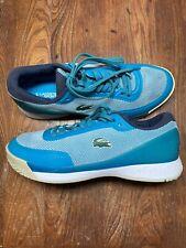 Lacoste Sport Tennis Shoes Men's Size 10 Blue NICE!!