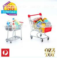Coles Little Shop Minis -Mini Trolley Cart | Coke Bottles in Crates | OZZ TOY