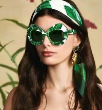 NEW Dolce & Gabbana DG4290 Botanical Garden Banana Leaf Print Sunglasses 51 mm