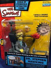 New - STEPHEN HAWKING Figure - WOS Simpsons PLAYMATES SERIES 13 Interactive