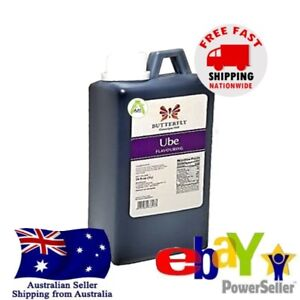 Butterfly Ube Essence 1 Litre Food Flavouring Coloring Baking Cake Beverages