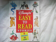 Disney's Easy to Read Stories~HC Omnibus~6 stories~Aladdin Lion Mulan Buzz~LBDDK