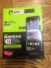 Simple Mobile LG X Style    FREE FAST SHIPPING
