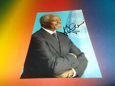 Neues AngebotKofi Annan UN Generalsekretär signed signiert autograph Autogramm auf 10x15 Foto