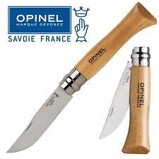 KNIFE OPINEL N° 8 COLTELLO DA LAVORO CAMPO CACCIA PESCA SURVIVOR FOLDING CAMPING