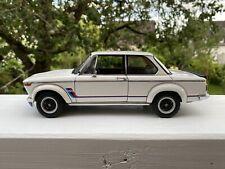 AUTOart 1:18 BMW 2002 e20 Turbo #70501 by RACEFACE-MODELCARS