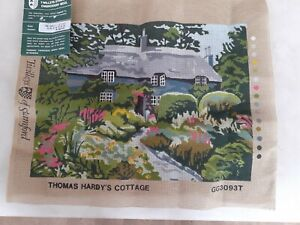 Twilleys Tapestry Embroidery canvas BN Thomas Hardy's Cottage GG3093T 29 x 39cm