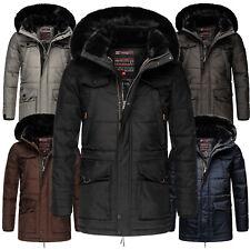 Navahoo warme Herren Winter jacke FVS4 Parka Outdoor Mantel Anorak LUAAN Luxus