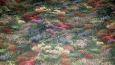 New Listing2Y Thomas Kinkaide Scenic Landscape Fabric David Textiles 2 Yards