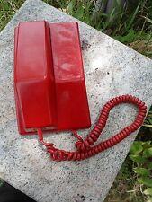 Teléfono de disco rojo