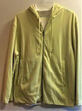 Vintage 1990's Stone Island Denims Sportswear Reversible Zip Front Hoodie size M