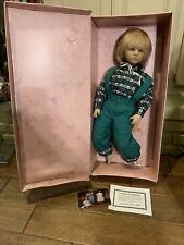 Annette Himstedt 3805 Barefoot Children Bastian 26� Puppen Kinder Boy Doll Coa