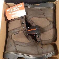 NEW Wolverine Blackhorn FX Mens Hunting Work Hiking Boots Waterproof $120- 11 M